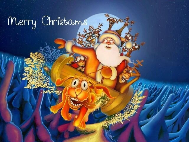 christmas status updates