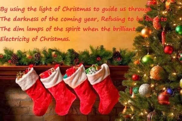 status for christmas